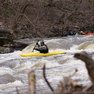 Chris D on the Tohickon March 2013